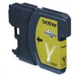 Cartuccia per Brother LC-980 LC-985 LC-1100 giallo