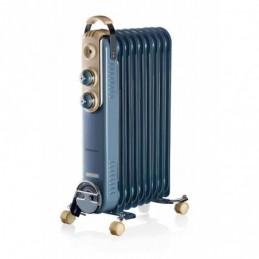 RADIATORE A OLIO 9 ELEMENTI CELESTE 3 Livelli di potenza 600W 900W 1500W