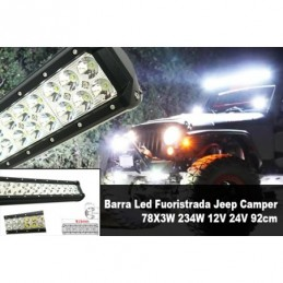 Barra Led Fuoristrada Jeep...